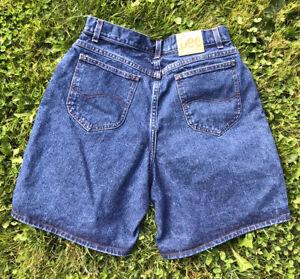 Mujeres Vintage Anos 90 Lee Super Alta Cintura 100 Algodon Pantalones De Mezclilla 16 Largo Ebay