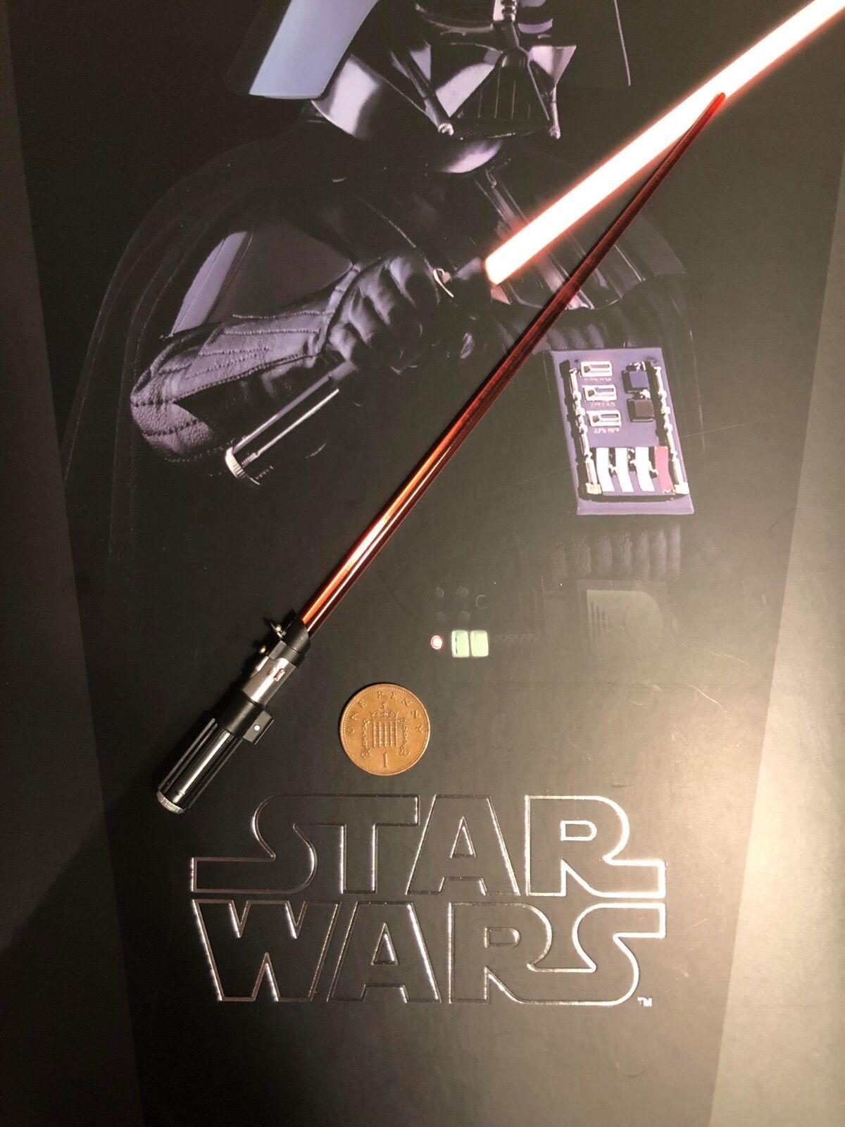 Hot Toys Star Wars ESB Darth Vader MMS452 Lightsaber loose 1 6th scale