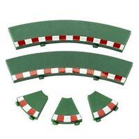 Scx 87940 1/32 Analog Green Inner Curve Track Border Set (4) Slot Car Tack on Sale
