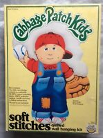 Cabbage Patch Kids Soft Stitches Large Quilted Wall Hanging Kit Boy Nip