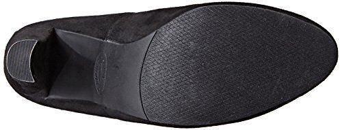 Steve Madden Gamuza Hermosa Tela De Gamuza Madden Negra De 8.5 sobre la rodilla botas De Moda Taco de Bloque c61e05