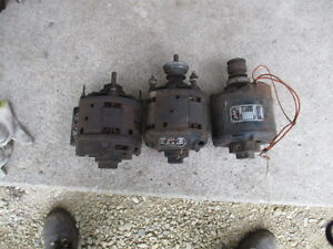 Vintage lot of 3 antique packard electric motors been in for Westinghouse ac motor 1 3 hp