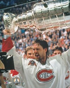 PATRICK-ROY-MONTREAL-CANADIENS-CUP-UNSIGNED-8x10-Photo-B