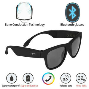 596c3263cc Image is loading G1-Polarized-Glasses-Sunglasses -Bluetooth-Bone-Conduction-Headset-