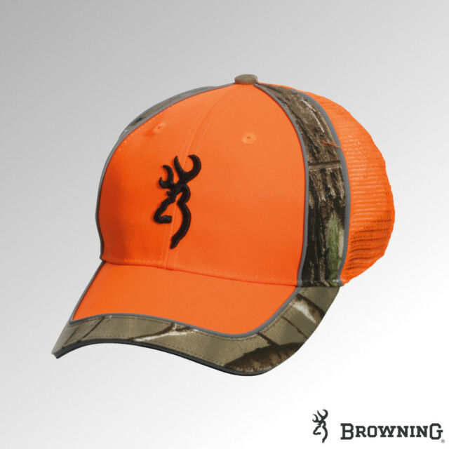 Browning Cap Polson Meshback Blaze Orange 308134011