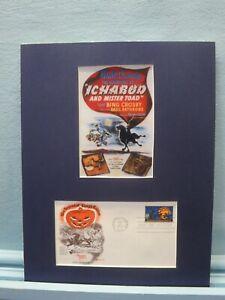 "Walt Disney - ""Ichabod Crane"" & First Day Cover of Legend of Sleepy Hollow Stamp"
