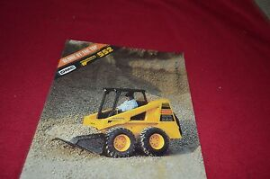 Owatonna 552 Mustang Skid Steer Loader Dealers Brochure