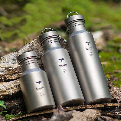 400/550/700ml Titanium Cycling Outdoor Sport Hiking Camping Drink Water Bottle