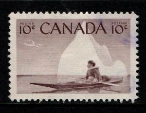 Canada 1955 10c Eskimo Hunter SG477 SC 351 Used