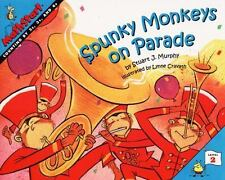 Kids cool paperback gr2-4:Spunky Monkeys on Parade-MathStart Story-count by 2,3,