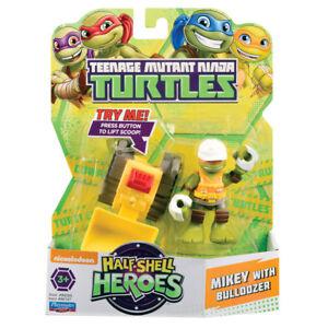 Teenage Mutant Ninja Turtles Half Shell Heroes mikey avec bulldozer  </span>
