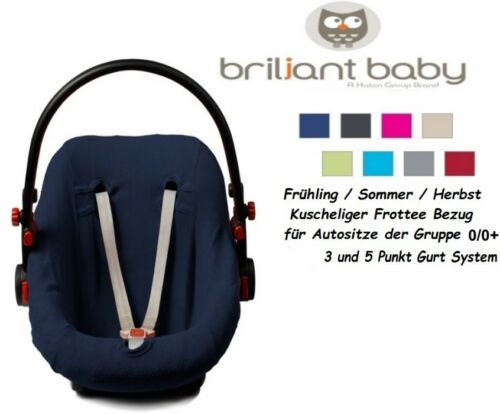 BabyFit MARINE Universal-Schonbezug für Babyschale 0//0 wie Maxi Cosi etc.