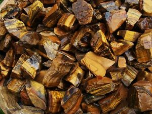 a very nice FREE faceted Gemstone 2000 Carats of Tiger Eye Rough