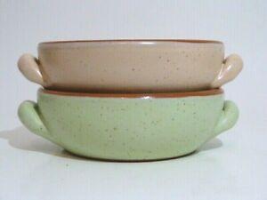 NEW* 2 x Beautiful De Silva terracotta Italy casseroles pots