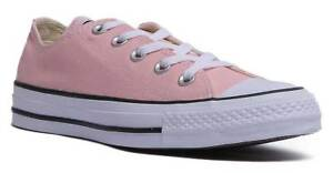 58100d88c5bd Converse Chuck Taylor All Star Ox Women Canvas Storm Pink Trainers ...