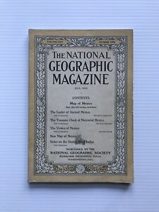 National-Geographic-Magazine-July-1916-The-Luster-Of-Ancient-Mexico