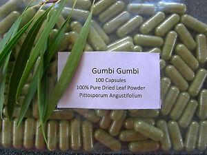 f359a7229 Gumby Gumby 100 Capsules Veg Caps 100% Pittosporum Angustifolium ...
