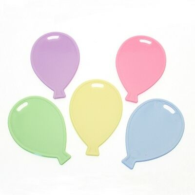 BALLOON WEIGHTS PACK OF 50 ASSTD PRIMARY BALLOON SHAPED OASIS FLORAL SKU BW30398