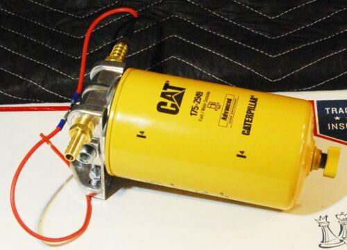 """Diesel Fuel Heater Kit 12V 120W FOR 4 Port Mount 3//8/"""" NPT"""