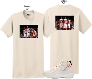2f4e6a0770b012 We Will Fit shirt for AIR JORDAN 11 XI PLATINUM TINT RED