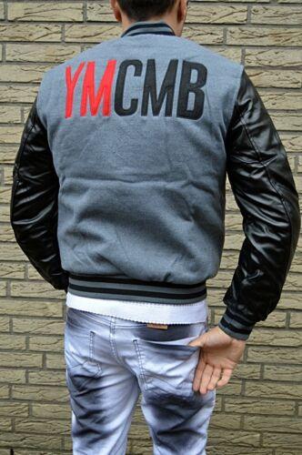 Young Baseball Money Letter Old College amp; Leder Jacket Jacke Newschool Neu Ymcmb xUFwq