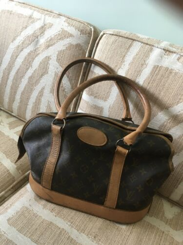 LOUIS VUITTON VINTAGE DOG CAARIER PURSE