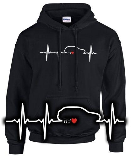 Sweatshirt HERZSCHLAG A3 8L Tuning Treffen Pulli i love motiv spruch