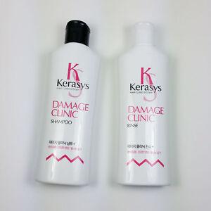 KERASYS-Hair-system-Damage-Clinic-Shampoo-180ml-Rinse-180ml-Aekyung-korean