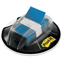 Post-it Page Flags In Desk Grip Dispenser 1 X 1 3/4 Blue 200/dispenser 680hvbe