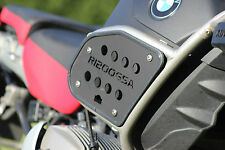Rugged Roads - BMW R1200GSA - Triple Black Adventure Tank Guards – 1042