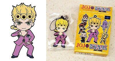 Jojo/'s Bizarre Adventure Giorno MISTA Gold Experienc Acrylic Keychain Keyring N