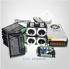 Cnc Kit 4 Axis Breakout Board Amp Nema23 Stepper Motor For Diy Routermillplasma