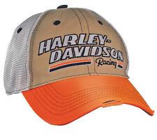 "Harley-Davidson Baseball - Cap ""H-D RACING"" Mütze, Trucker-Cap *BC39979*"