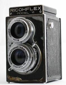 AS-IS-RICOH-FLEX-MODEL-Film-camera-From-Japan