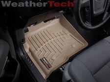 WeatherTech Floor Mat FloorLiner - Ford F-150 - 2010-2014 - 1st Row - Tan