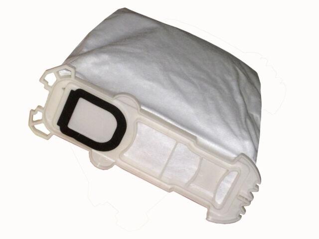 6 Bolsa con Filtro para Aspirador Adecuado Para Vorwerk Kobold 135 136