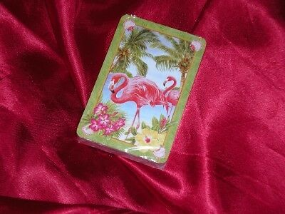 FLAMINGO  PALMS  AMARYLLIS  NEW DECK OF PLAYING CARDS