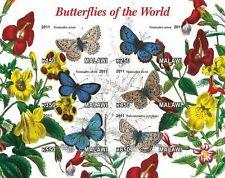 ** Butterflies - s/s  Malawi 2011  mint MNH IMPERF  #C088