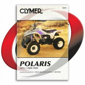 1995-Polaris-Scrambler-400-Repair-Manual-Clymer-M496-Service-Shop-Garage