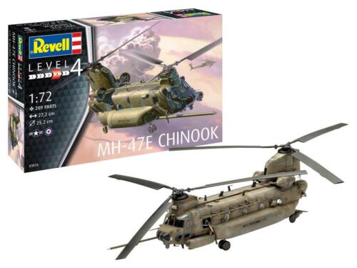 Boeing MH-47 Chinook US Army 'Night Stalkers' and RAF HC Mk.3 1:72 Revell 3876