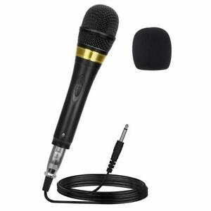 Pro-Vocal-Dynamic-Karaoke-Microphone-XLR-to-6-35mm-Cable-13ft-Wire-Ankuka-New