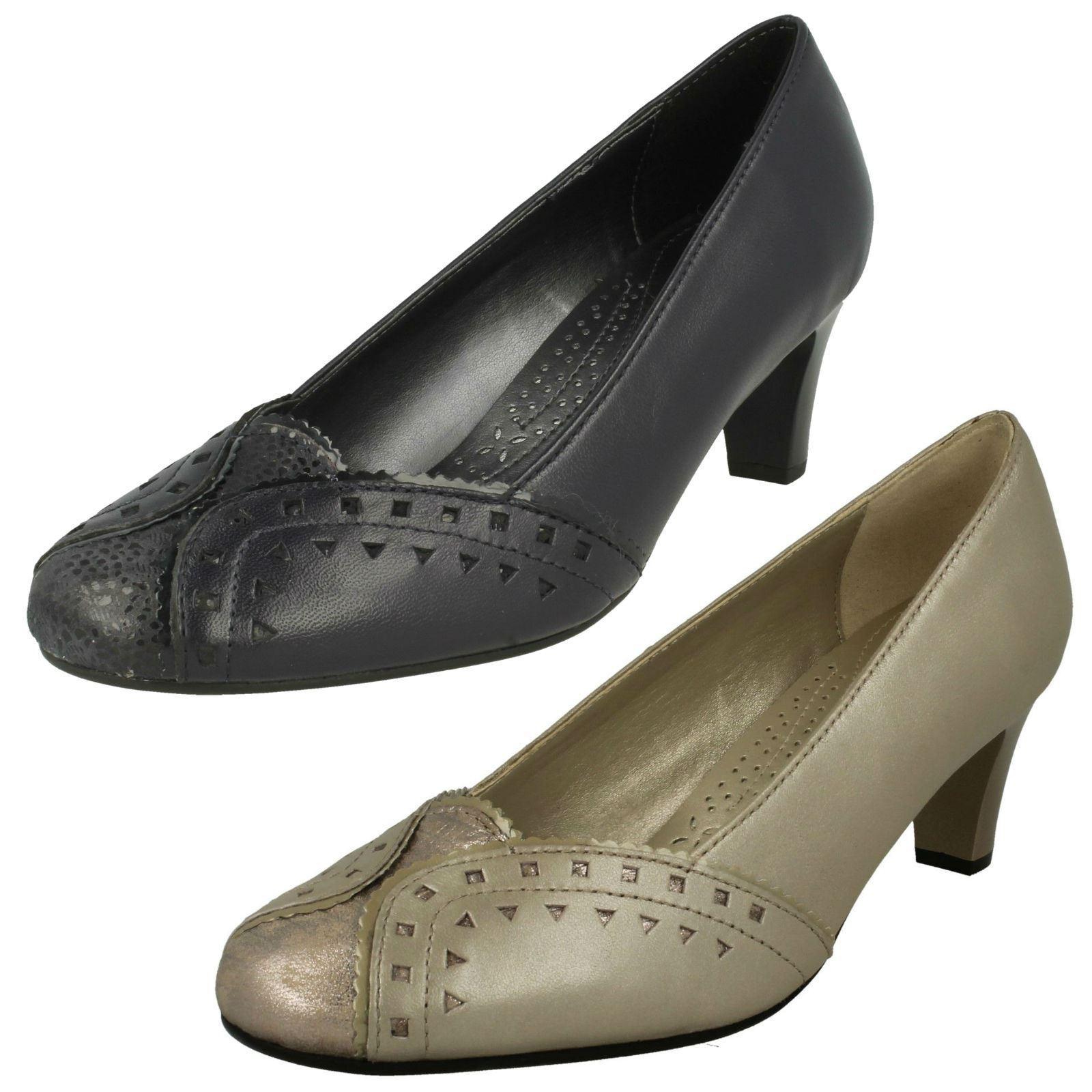 Femmes Padders à Talon Cour Chaussures  Janet