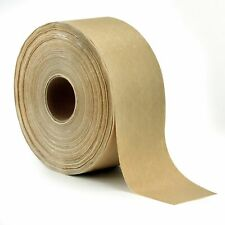 Reinforced Gummed Kraft Paper Packing Tape 275 Inches X 375 Feet Water Activ