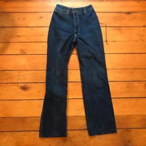 """Vintage Paul Jordan Jeans Hohe Taille 70s Jahre 80s 22"""" Schrittlänge 27"""" Größe Ausgereifte Technologien"""