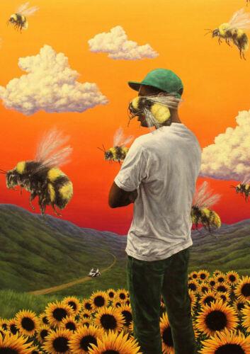 N-050 Tyler the Creator Flower Boy Album Silk Poster 12x18 24x36 27x40