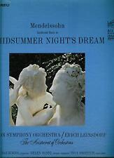 MENDELSSOHN *A MIDSUMMER NIGHT'S DREAM * BOSTON SYMPHONY ORCHESTRA   LP