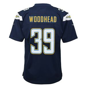 Danny Woodhead San Diego Chargers Nike Home Navy Blue Game Jersey ...