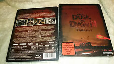 From Dusk Till Dawn Trilogy Blu-ray 4-Discs SoldOut UNCUT Steelbook New & Sealed