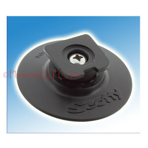 Scotty #442 Cup Holder Button w//3 Stick-On Accessory Mount