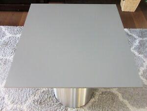 HPL Platte Tischplatte 8mm Quarz Grey beidseitig 741 x 677 mm TRESPA® Meteon®